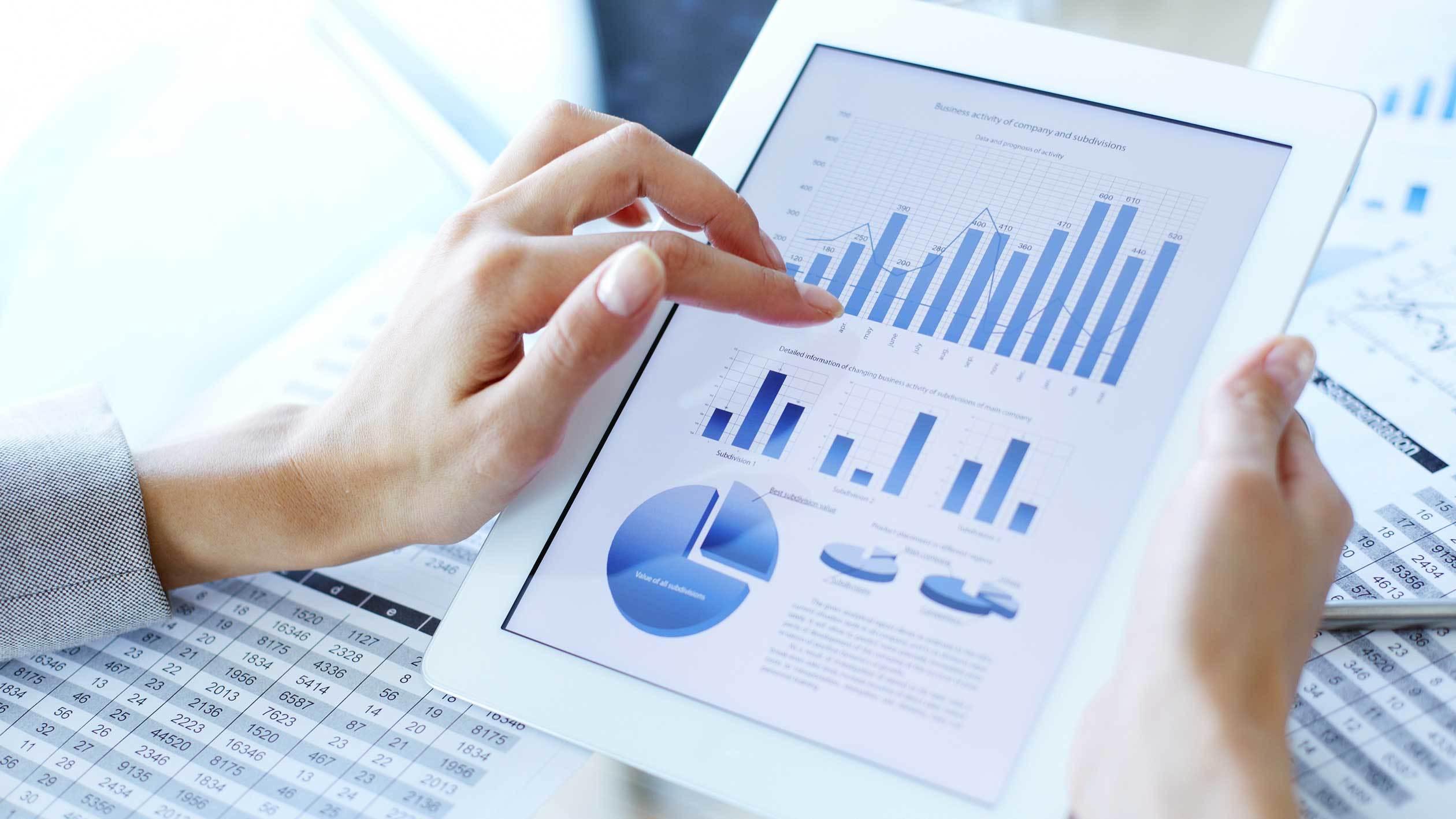 Fundos de Investimento - London Capital - Tablet - Gráficos